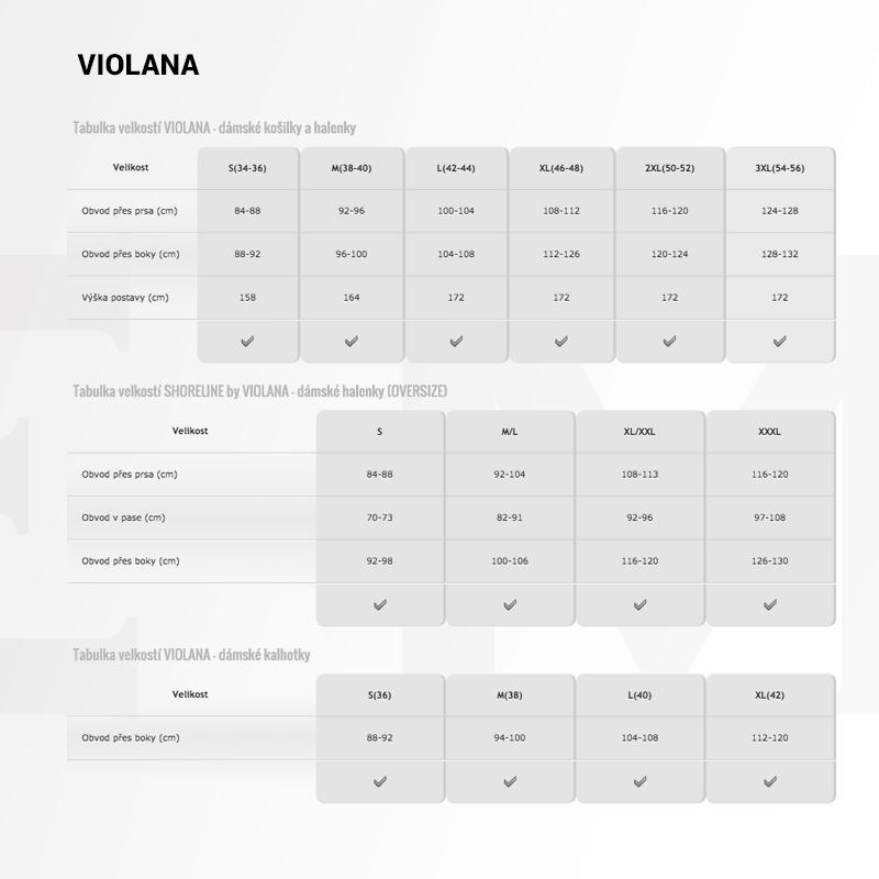 980ada1a81e Černá halenka Violana s krajkou po bocích